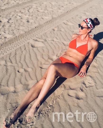 Катарина Бауэр в повседневной жизни. Фото Скриншот Instagram/katha.bauer