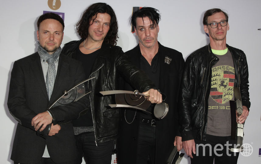 Rammstein. Архивное фото. Фото Getty