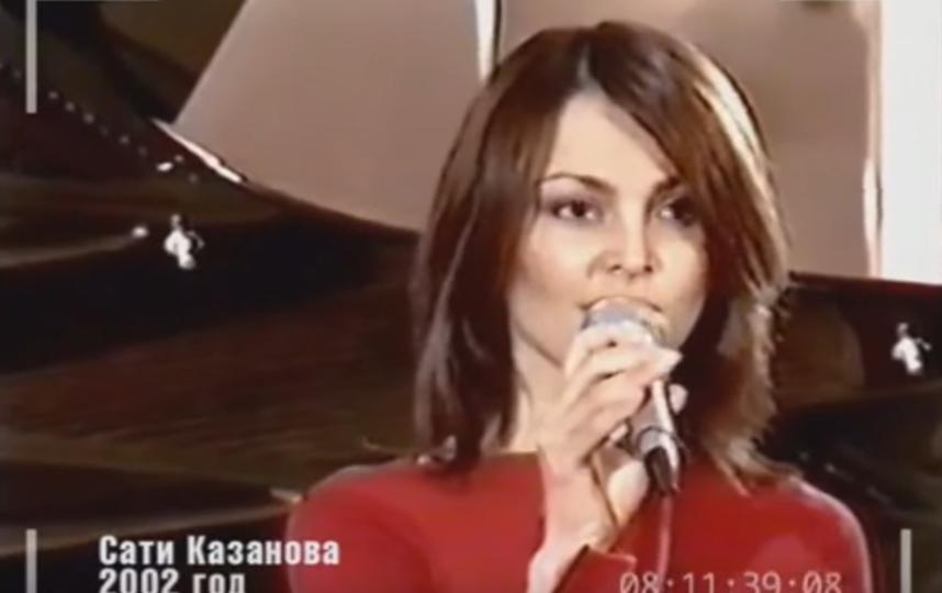 Сати Казанова. Фото Скриншот Youtube