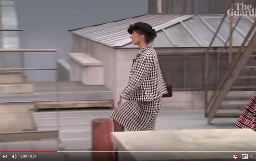 "Marie Benoliel. Фото скриншот Youtube, ""Metro"""