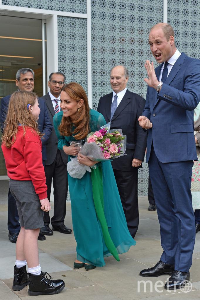 На встрече с мусульманским духовным лидером в Лондоне. Фото Getty