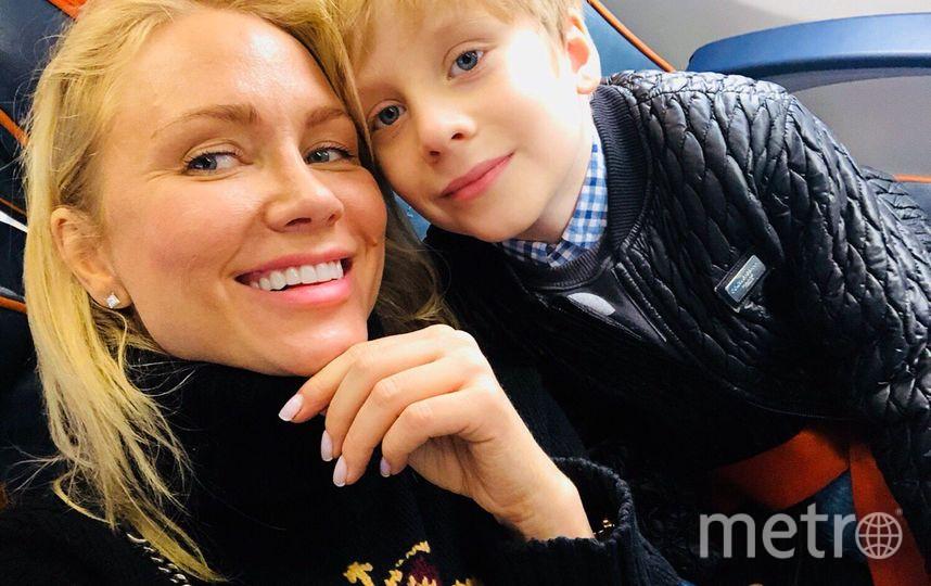 Катя Гордон с сыном. Фото из личного архива Гордон