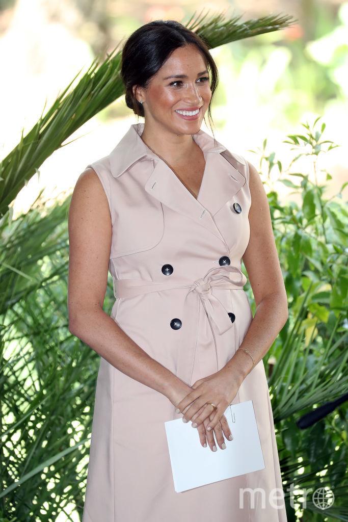 Меган Маркл в платье-халате. Фото Getty