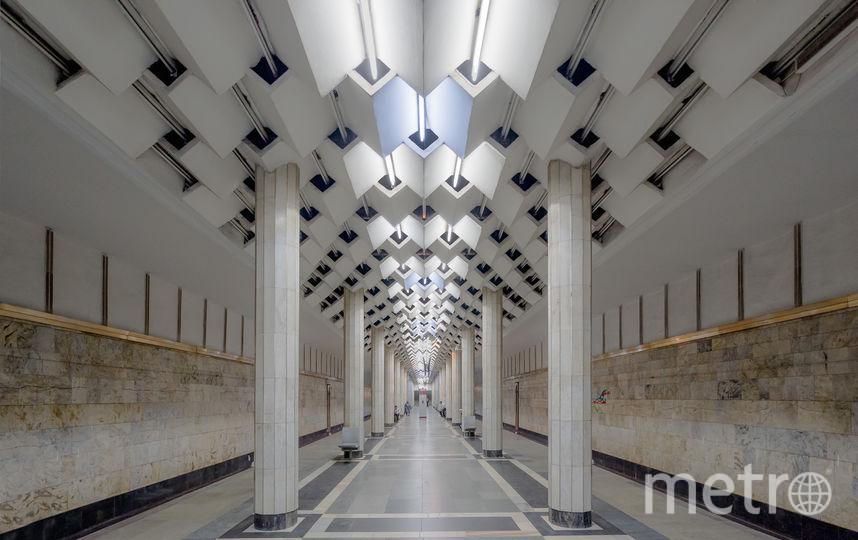 "Станция ""Улдуз"" в Баку. Фото Christopher Herwig / herwigphoto.com"