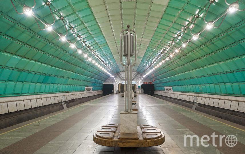 "Станция метро ""Проспект Свободы"" в Днепре. Фото Christopher Herwig / herwigphoto.com"