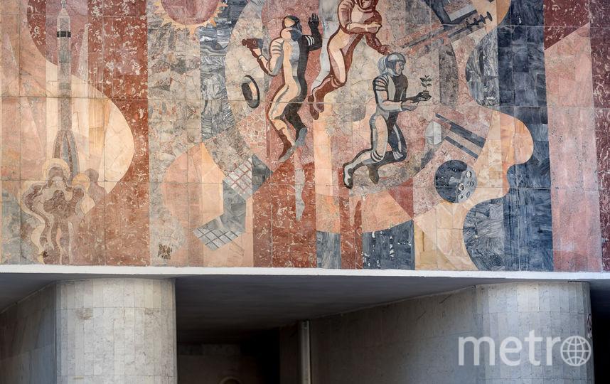 """Станция """"Кастрычницкая"""" в Минске. Фото Christopher Herwig / herwigphoto.com"""