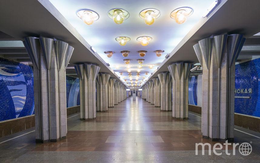 "Станция ""Гагаринская"" в Самаре. Фото Christopher Herwig / herwigphoto.com"