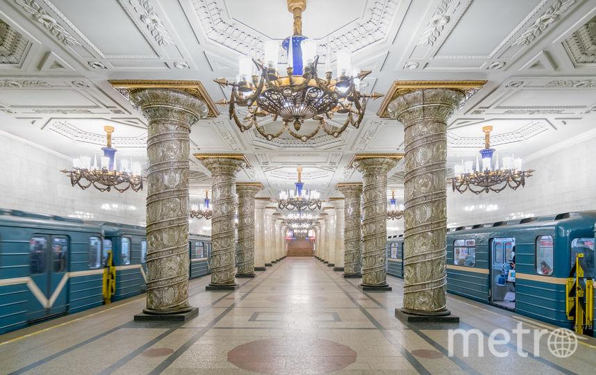 """Станция """"Автово"""" в Санкт-Петербурге. Фото Christopher Herwig / herwigphoto.com"""