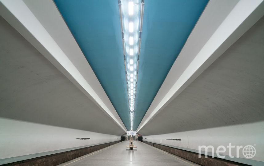 """Станция """"Чкаловская"""" в Нижнем Новгороде. Фото Christopher Herwig / herwigphoto.com"""