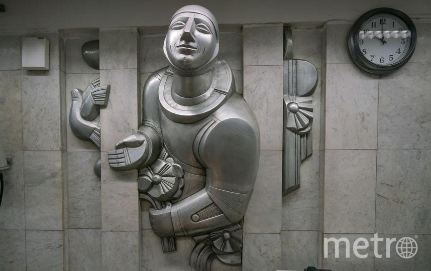 """Станция """"Проспект Космонавтов"""" в Екатеринбурге. Фото Christopher Herwig / herwigphoto.com"""