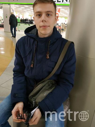 """Борис, служащий, 25 лет. Фото Наталья Сидоровская, """"Metro"""""""