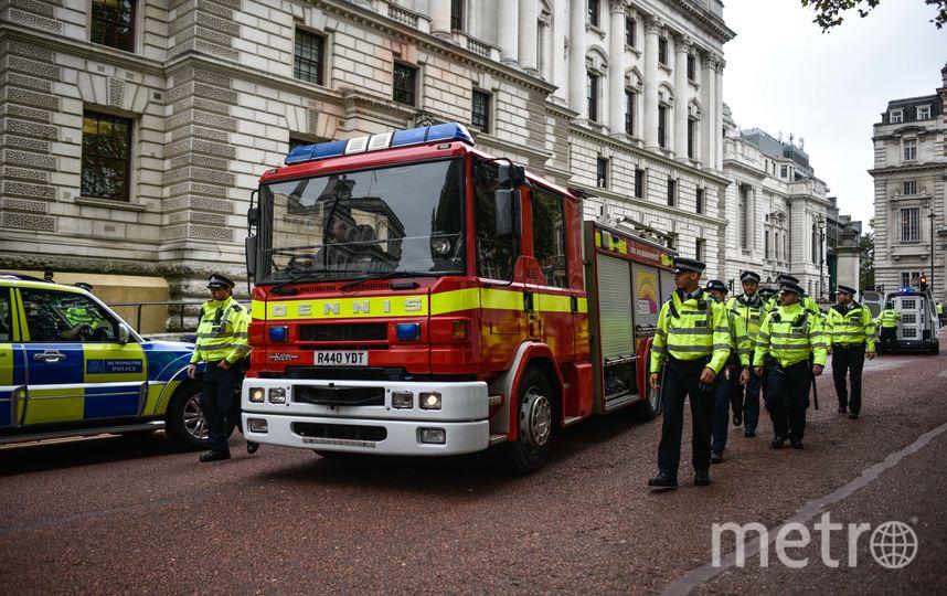 Пожарная машина была конфискована. Фото Getty