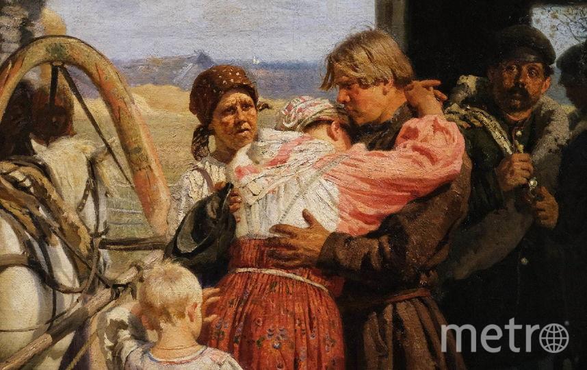 Выставка, приуроченная к  175-летию Ильи Репина, переехала вСанкт-Петербург