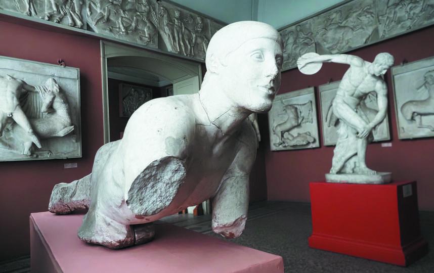 """В музее находятся копии многих шедевров античности, хранящихся в самых известных музеях Европы. Фото Святослав Акимов, """"Metro"""""""