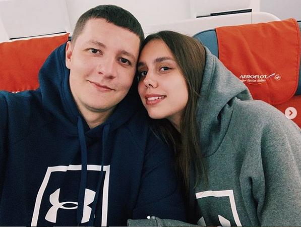 Маргарита Мамун и Александр Сухоруков. Фото скриншот: instagram.com/ritamamun/