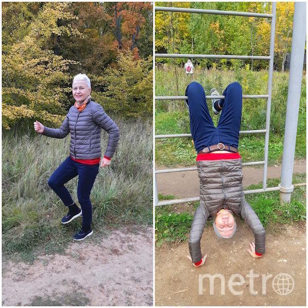 """""""Я тебе не бабушка, я - королева фитнеса!"""". Фото Наталия Куликова (60 лет), """"Metro"""""""