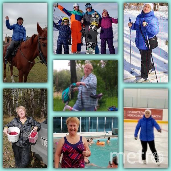 """""""Я тебе не бабушка, я – наездница, ягодница, горнолыжница, велосипедистка, пловчиха, лыжница, фигуристка. В общем, энерджайзер"""". Фото Марина, """"Metro"""""""