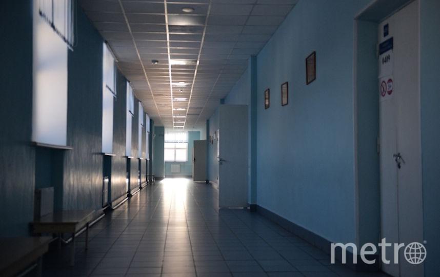 Коридор средней общеобразовательной школы (архивное фото). Фото РИА Новости