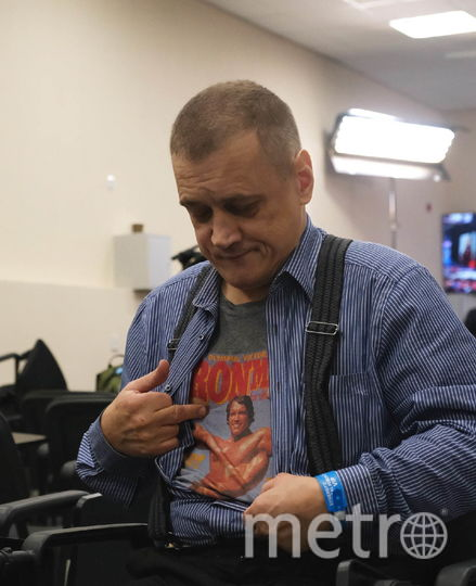 "Сергей Еремичев. Фото Алена Бобрович, ""Metro"""