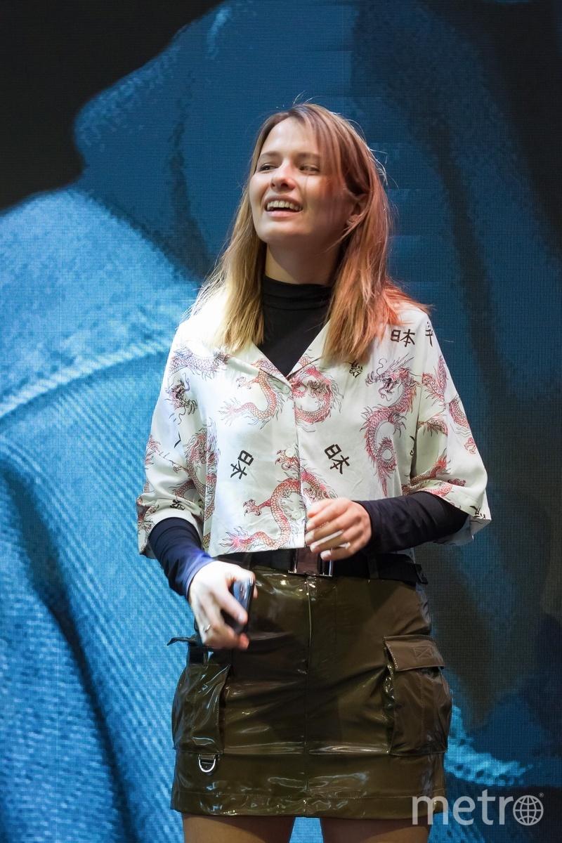 Актриса Любовь Аксенова на презентации фильма. Фото Предоставлено организаторами