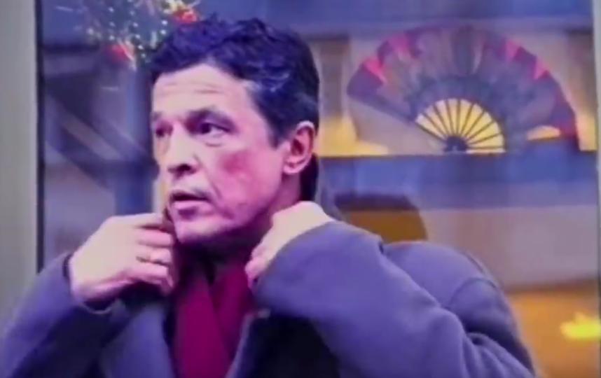 """Ивар Калныньш в клипе на песню """"Ты бросил меня"""". Фото скриншот Youtube"""