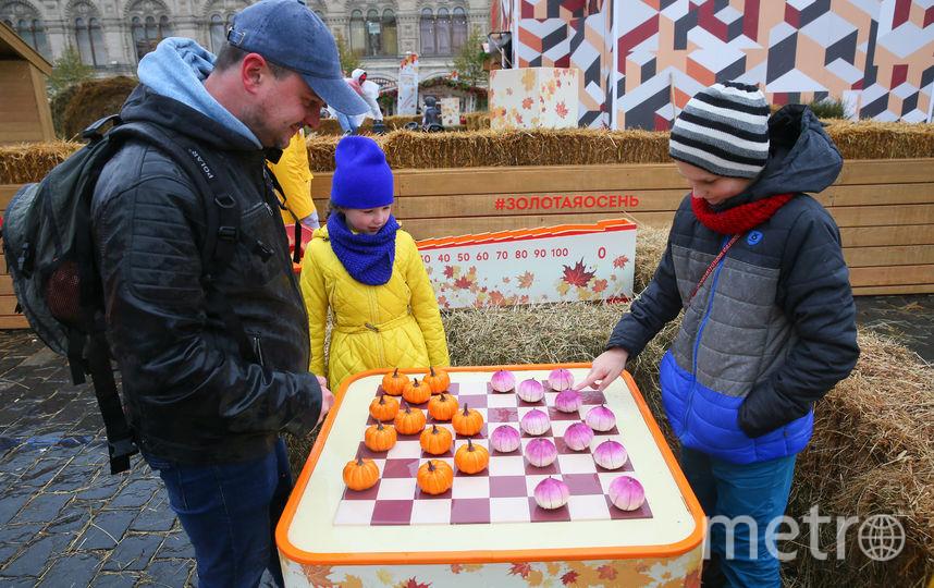 «Тыквенные» шашки – одна из фишек праздника. Фото Василий Кузьмичёнок