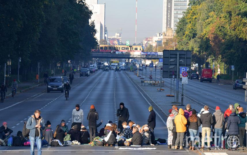 Extinction Rebellion в Берлине. Фото AFP