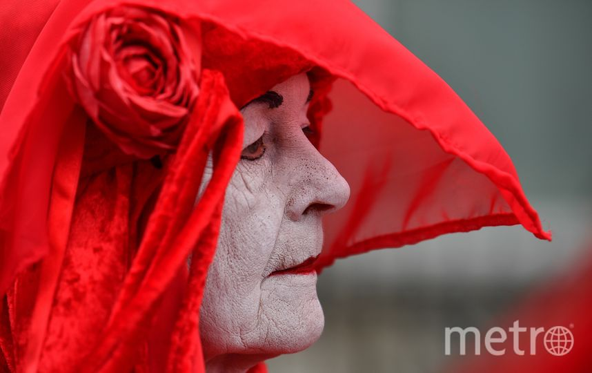 Активисты Extinction Rebellion в Лондоне. Фото AFP
