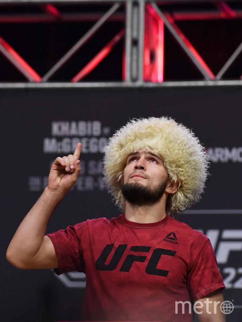 Чемпион UFC Хабиб Нурмагомедов. Фото Getty