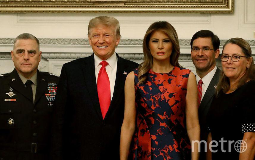 Мелания Трамп на ужине в Белом доме. Фото Getty