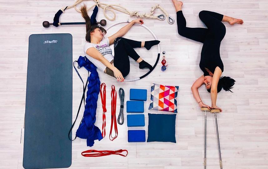 Студия растяжки и воздушной гимнастики показала сложные элементы в новой плоскости. Фото скриншот instagram @dancecircus