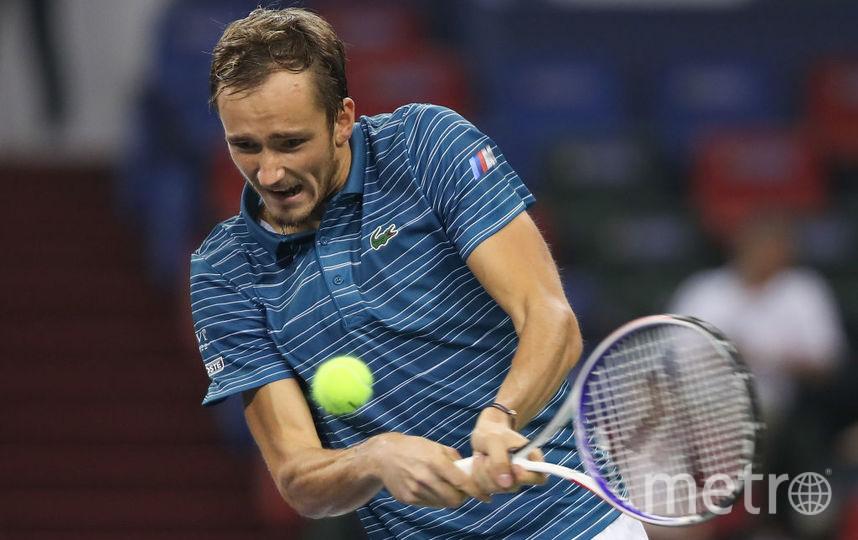 Даниил Медведев вышел в третий круг турнира Shanghai ATP Masters 1000. Фото Getty