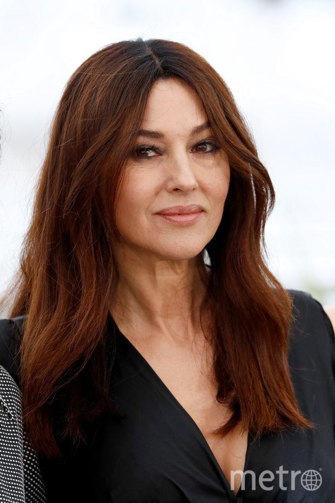 Моника Белуччи обычно носит длинные волосы. Фото архив, Getty