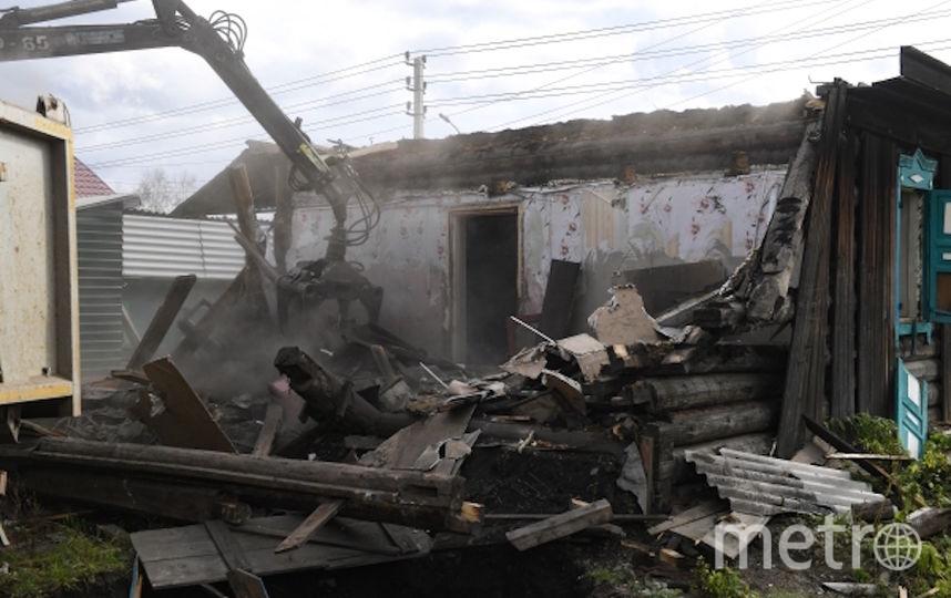 Тулун, последствия наводнения. Фото РИА Новости