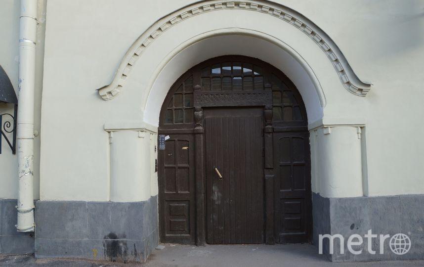 Дверь до реставрации. Фото mytndvor, vk.com