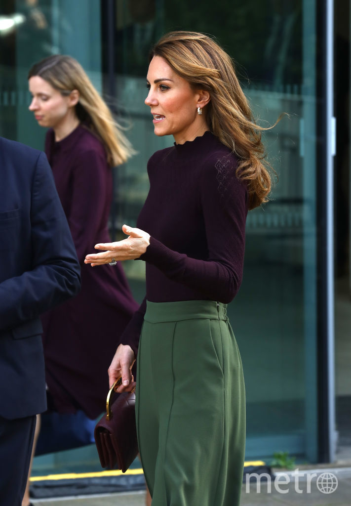 Кейт Миддлтон 9 октября в Лондоне. Фото Getty