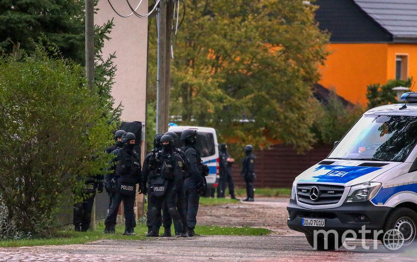 В немецком городе Галле неизвестные открыли стрельбу. Фото AFP