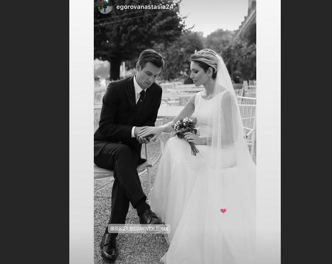 Сергей Семак женился. Фото скриншот www.instagram.com/sergey_bogdanovich_semak/