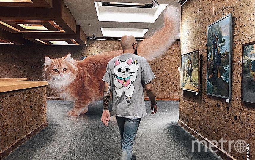"""Встревча в картинной галерее. Фото Скриншот Instagram/odnoboko, """"Metro"""""""