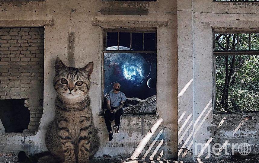 """Пейзаж за окном и у окна. Фото Скриншот Instagram/odnoboko, """"Metro"""""""