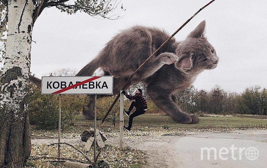 """Андрей готов лезть куда угодно ради эффектного кадра. Фото Скриншот Instagram/odnoboko, """"Metro"""""""