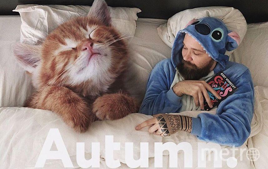 """Осенью есть способ согреться. Фото Скриншот Instagram/odnoboko, """"Metro"""""""