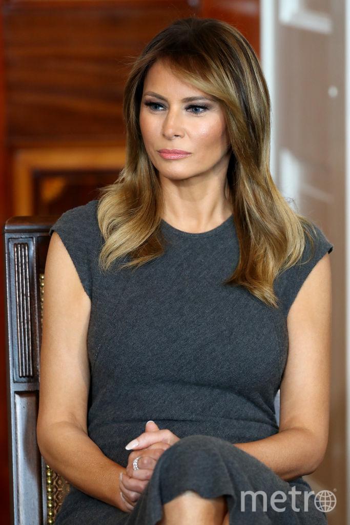 Мелания поделилась впечатлениями от встречи в Белом доме в своем блоге в Twitter. Фото Getty