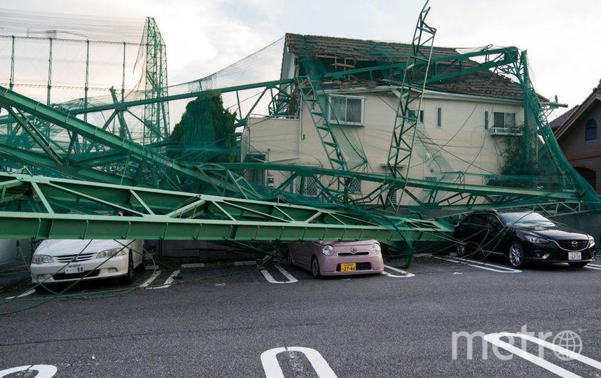 """В начале сентября этого года в Японии буйствовал тайфун """"Факсай"""". Фото Getty"""
