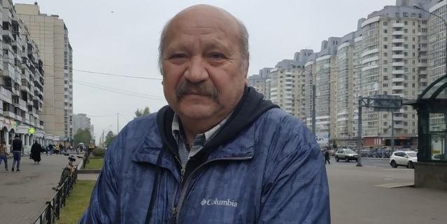 Валерий Васильевич, пенсионер, 61 год.