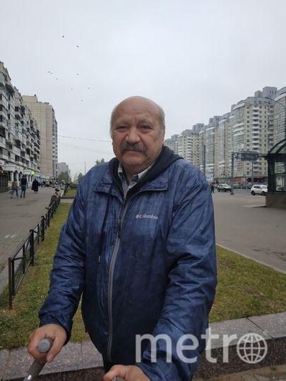 """Валерий Васильевич, пенсионер, 61 год. Фото Наталья Сидоровская, """"Metro"""""""