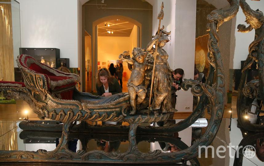 На этих санях в 18-м веке каталась сама Екатерина II. Фото Василий Кузьмичёнок