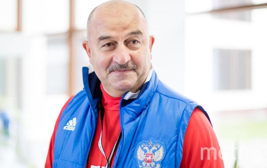 Тренет сборной России Станислав Черчесов. Фото Getty