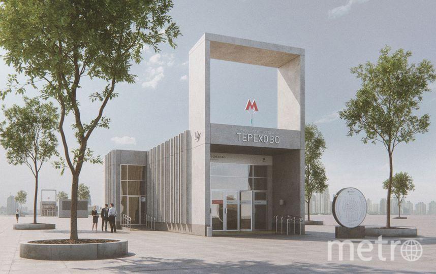 """Проект. Фото Buromoscow, предоставлено пресс-службой Москомархитектуры, """"Metro"""""""
