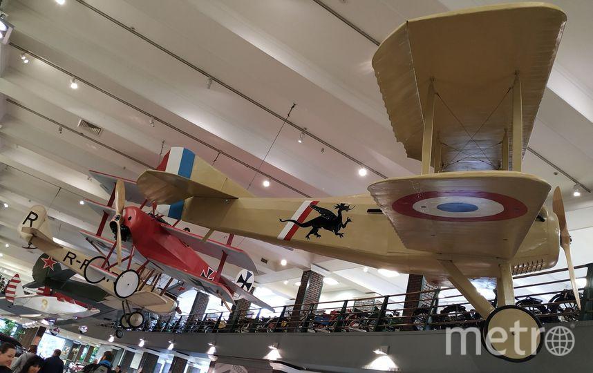 "Помимо машин и мотоциклов в музее представлена и авиация. Фото Ольга Кабанова, ""Metro"""